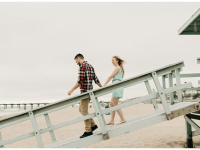 Brianne + Ray | Manhattan Beach Pier