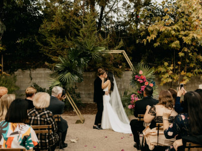 Lux Art Institute Wedding, Encinitas